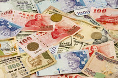 Vreemde valuta royalty-vrije stock afbeelding