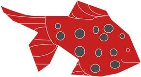 Vreemde vissen stock illustratie