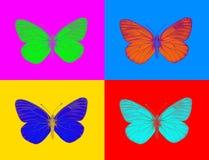 Vreemde vlinder Stock Foto's