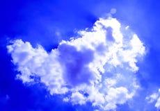 Vreemde wolk Stock Foto