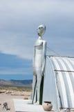 Vreemdeling in de woestijn van Nevada Royalty-vrije Stock Foto's