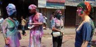 Vreemdelingen in India Royalty-vrije Stock Fotografie