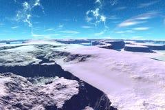 Vreemdere planeten vector illustratie