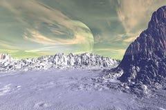 Vreemdere planeten Royalty-vrije Stock Foto