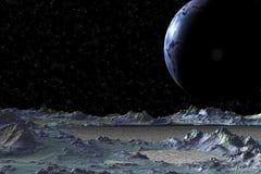 Vreemdere planeten Royalty-vrije Stock Fotografie