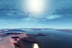 Vreemdere planeten Stock Afbeeldingen