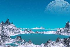 Vreemdere planeten Royalty-vrije Stock Afbeelding
