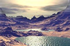 Vreemdere planeten Stock Fotografie