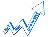 Vrees de geen groei vector illustratie