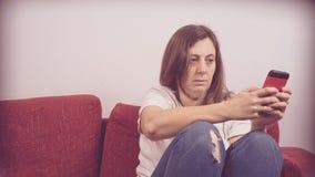 Vrees, eenzaamheid, depressie, misbruik stock foto
