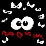 Vrees voor Dark stock illustratie