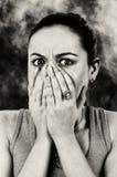 Vrees voor de getuige Stock Foto's