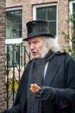 Vrek één van de karakters van de beroemde boeken van Dickens D Royalty-vrije Stock Foto