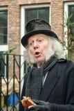 Vrek één van de karakters van de beroemde boeken van Dickens D Stock Fotografie