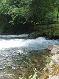 Vrelo Bosne. River Bosna Spring royalty free stock images