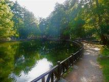 Vrelo Bosne. Park in Bosnia and Herzegovina stock images