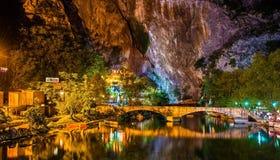 Vrelo Bune, bron van de Buna-rivier, in Blagaj Royalty-vrije Stock Afbeeldingen