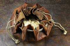 Vreneli guld- mynt royaltyfria bilder
