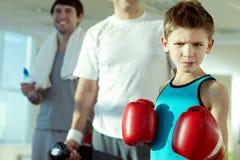 Vreselijke bokser stock foto's