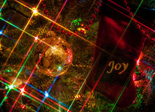 Vreugde bij Kerstmis Royalty-vrije Stock Afbeelding