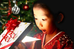 Vreugde van Kerstmis Stock Foto's