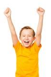 Vreugde van overwinning Stock Afbeelding