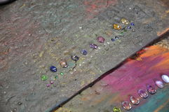 Várias pedras preciosas Fotos de Stock Royalty Free
