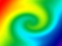 vriden regnbåge för bakgrundsfärglutning Arkivbilder