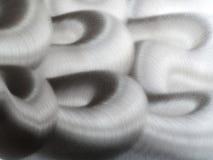Vriden skinande metallbakgrund Royaltyfri Foto