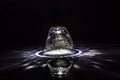 Vridmoment av exponeringsglaset Arkivbild