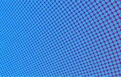 Vridna blått täcker med spela golfboll i hål Arkivbilder
