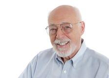 Vriendelijk & Wijze grootvader Royalty-vrije Stock Foto's