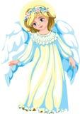 Vriendelijke engel Stock Afbeeldingen