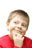Vriendelijke jongen Stock Foto's