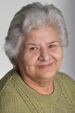 Vriendelijke oude vrouw Royalty-vrije Stock Fotografie