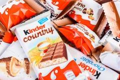 Vriendelijkere Chocolade Stock Foto