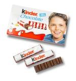 Vriendelijkere chocoladerepen Stock Afbeeldingen