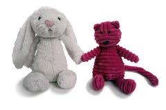 Vrienden 1 van het stuk speelgoed stock afbeelding