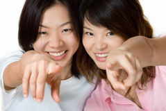 Vrienden Stock Foto's