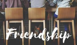 Vrienden Buddy Relationship Together Concept Royalty-vrije Stock Fotografie
