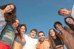 Vrienden in de zomer Royalty-vrije Stock Fotografie