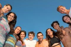 Vrienden in de Zomertijd Stock Fotografie