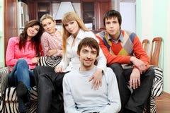 Vrienden samen Stock Foto