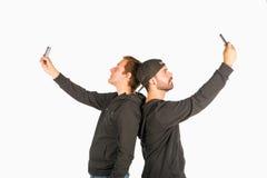 Vriendenportret Stock Foto's
