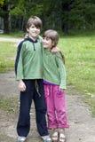 Vriendschap. Stock Foto