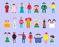 Vriendschap en mensen Royalty-vrije Stock Afbeeldingen