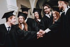 Vriendschap status Gang universiteit Pret stock foto