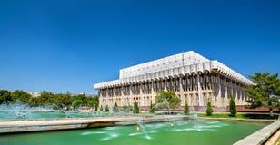 Vriendschap van Natiespaleis in Tashkent, Oezbekistan royalty-vrije stock foto