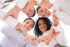 Vriendschappelijk commercieel team Stock Fotografie