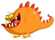 Vriendschappelijk monster vector illustratie